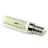 7W G9 LED Corn Lights T 72LED SMD 2835 800-900lm Warm White / Cool White Decorative 220-240 V 1pcs