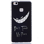 Tooth Pattern PU Material Phone Case for Huawei P9 Lite/P9