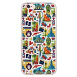 iPhone 6s Plus/6 Plus / iPhone 6s/6 TPU Cartoon Ultra-thin Back Cover