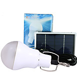 LED Solar Power LED Lighting System Light Lamp Bulb solar panel Low-power camp used 7-9hours