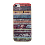 Painted Stripe PU Soft Case Phone Case for iPhone 5/5S/SE