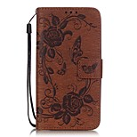 The Butterfly Pattern Printing PU Leather Wallet Case for LG G5/K7(Assorted Colors)