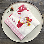 100% virgin pulp Wedding Napkins-20 Piece/Set Luncheon Napkins / Dinner Napkins