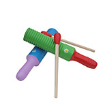 Wood Red/Green/Yellow/Blue Percussion Instrument for Children All Musical Instruments Toy Random Delivery