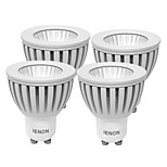 IENON® 4 pcs  3W GU10 LED Spotlight MR16  COB 240-270 lm Warm White / Cool White Decorative AC 100-240 V