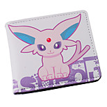 Inspired By Pocket Little Monster Espeon PU leather Wallet