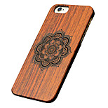 Back Cover Ultra-thin / Other Flower Wooden HardApple iPhone 6s Plus/6 Plus / iPhone 6s/6