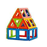 Changed Tyra Magnetic Blocks, Children's Educational Toys, 3 to 7 Years Old(18 Magnetic Pills,15 Pieces of Card)