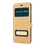 Luxury View Window Full Body Flip Pu Leather Case with Kickstand for iPhone 6 Plus/iPhone 6S Plus/iPhone 6S/iPhone 6
