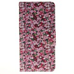 Floral Card Holder Wallet PU Leather Phone Case for Huawei P9/P9lite