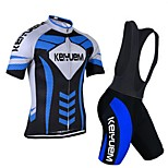 KEIYUEM®Others Unisex Short Sleeve Spring / Summer / Autumn Cycling Clothing bib suits/ Breathable Quick Dry#8