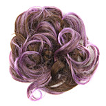 Wig Purple 5CM High-Temperature Wire Color Hair Ring Colour 2/30-FP01