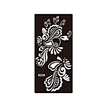 1pc Temporary Henna Indian Flower Airbrush Printing Stencil Body Art Tattoo Sticker Pattern Template S238
