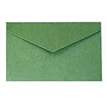5 elegant gold foil envelope business invitation (color random)