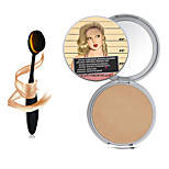 1PCS New Makeup TB Mary-Lou Manizer Bronzer & Highlighter Cosmetics +1PCS Masterclass Oval Foundation Makeup Brush