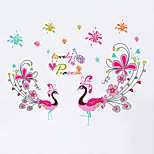 Wall Stickers Wall Decals Style Peacock Love PVC Wall Stickers