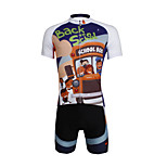 PaladinSport Men 's Cycyling Jersey + Shorts suit DT635 school childishness