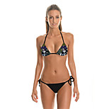 FuLang   Bikinis Set   Beach Swimsuit    Fashion    Personality   Sexy  Backless  Printing SC033