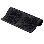 Large Silicone Lace Flower Mat Embossed Cake Mold Sugarcraft Decoration Tools