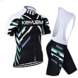 KEIYUEM®Others Unisex Short Sleeve Spring / Summer / Autumn Cycling Clothing Bib Suits/ Breathable Quick Dry#10