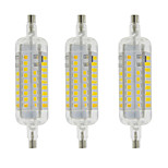 5W R7S LED Corn Lights T 60 SMD 2835 800 lm Warm White / Cool White Decorative / Waterproof AC 220-240 V 3 pcs