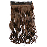 Borwn Length 60CM Synthetic Curly Hair Mixed Color Wig(Color 4A/27A)