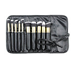 10 Makeup Brushes Set Nylon / Others Professional Wood Face Others