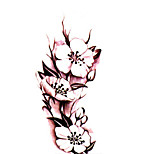 3D Tattoo Sticker Body Art Waterproof Temporary Tattoos Beautiful Rose Tattoo Sticker Wholesale