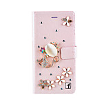 Jewelry Crystal Bling Rhinestone Luxury Wallet Stand Case For Huawei Changxiang5/5S/P9 Plus/P9 Lite/P9