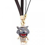 Big big wolf mobile phone chain