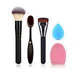 Powder Brush Makeup Toothbrush Foundation Brush Cleaning Brush Egg And Small Size Makeup Sponge