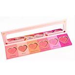 2016 New Blush Cheek Is Red Eye Shadow Peach Eye Shadow Chocolate Bon BonsLove Flush Blush(6 Colors)