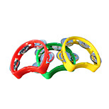 Plastic Red/Yellow/Blue Bell for Children All Musical Instruments Toy Random Delivery