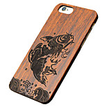 Back Cover Ultra-thin / Other Other Wooden Hard Chinese StyleCase Cover ForApple iPhone 6s Plus/6 Plus / iPhone 6s/6