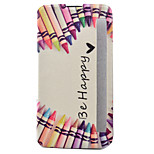 Love Pen Painted Voltage Holster PU Material Clamshell Phone Cover for LG G5/K10