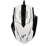 topi lupo guerra 6d wired mouse da gioco di luce 2400 dpi retroilluminato respirazione per lol / cf / DOTA nero / bianco