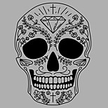 Shapes Skull Wall Mural People / Abstract / Fantasy / 3D Wall Stickers Plane Wall Stickers,vinyl 58*78cm