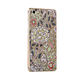 Metal Frame Protective Shell Hard  Painting for HUAWEI P8 (The Golden box + Flowers)