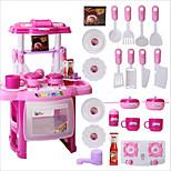 Portable Electronic Kids Kitchen Cooking Boy Toy Play Set Light Sound