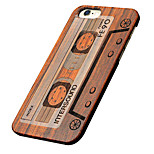 ultra dunne houten magnetische tape beschermende rugdekking harde iphone pc case voor de iPhone se / iphone 5s / iphone 5