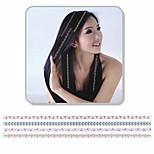 1pcs neue Art und Weise Splitter Bronzing Haar Aufkleber Haar-Accessoires
