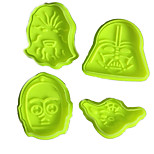 1Set Star Wars Cake Fondant Decorating Pastry Cookie Mold Plunger Cutter Tool Gift Random Color