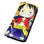 One Piece Monkey D. Luffy PU Leather wallets