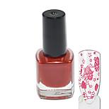 1pcs vernis à ongles pour l'impression colorée ongles outils art beauté des ongles 01-06