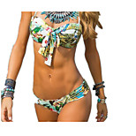WOMEN Printing Sexy Swimwear Bikini Swimsuit
