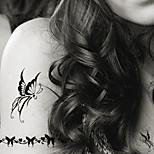 5 Tatuajes Adhesivos Series de Joya / Series de Animal / Series de Flor / Series de Tótem / Serie de dibujos animadosNon Toxic / Modelo /