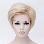 Europe And The United States The New Shallow Short Blonde Wig 3 Inch Natural Curly Wigs