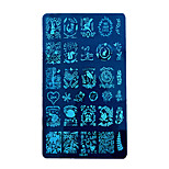 1pcs Flower Series Nail Printing Plate
