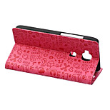 Luxury Small Hag Skin Leather Wallet Stand Flip Cover for Huawei G8 Case (Assorted Colors)