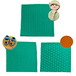 2016 Knitted Sweater Textured Fondant Mats Knit Vein Silicone Mold Pace Fondant Cupcake Decor Baking Mold